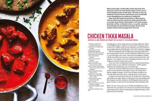 Chicken tikka masala by the curry guy